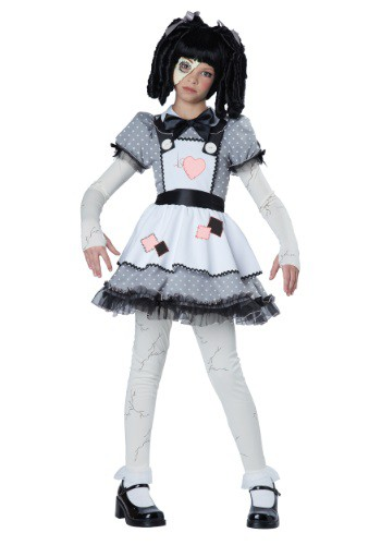 Girls Haunted Doll Costume By: California Costume Collection for the 2015 Costume season.