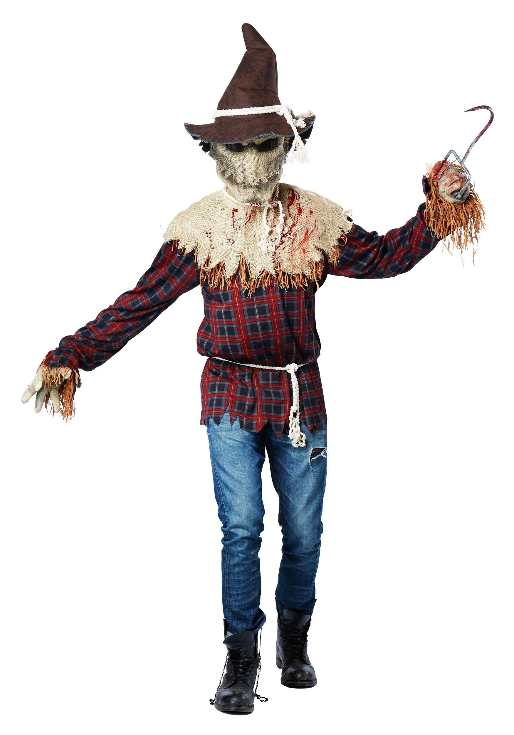 sc 1 st  Halloween Costumes & Adult Sadistic Scarecrow Costume