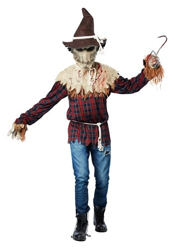 Click Here to buy Adult Sadistic Scarecrow Costume from HalloweenCostumes, CDN Funds