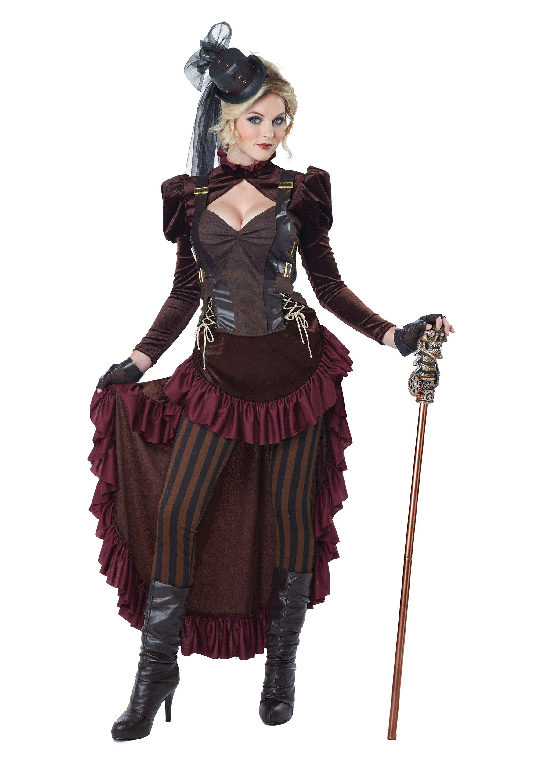 Women's Victorian Steampunk Costume