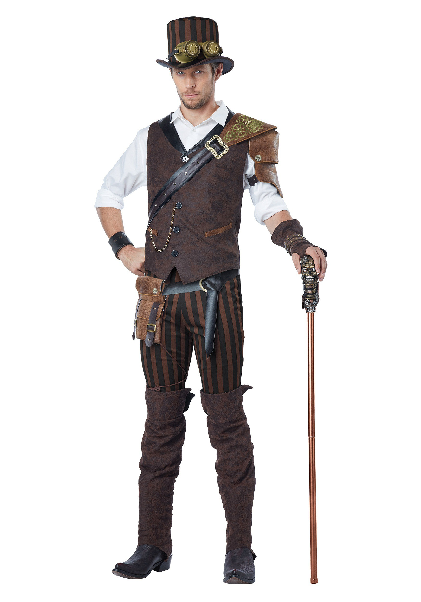 adult steampunk adventurer costume. Black Bedroom Furniture Sets. Home Design Ideas