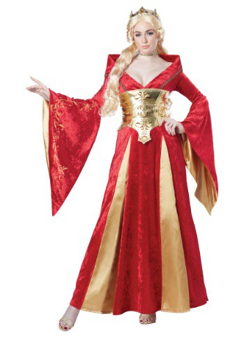 Womens Medieval Queen Costume
