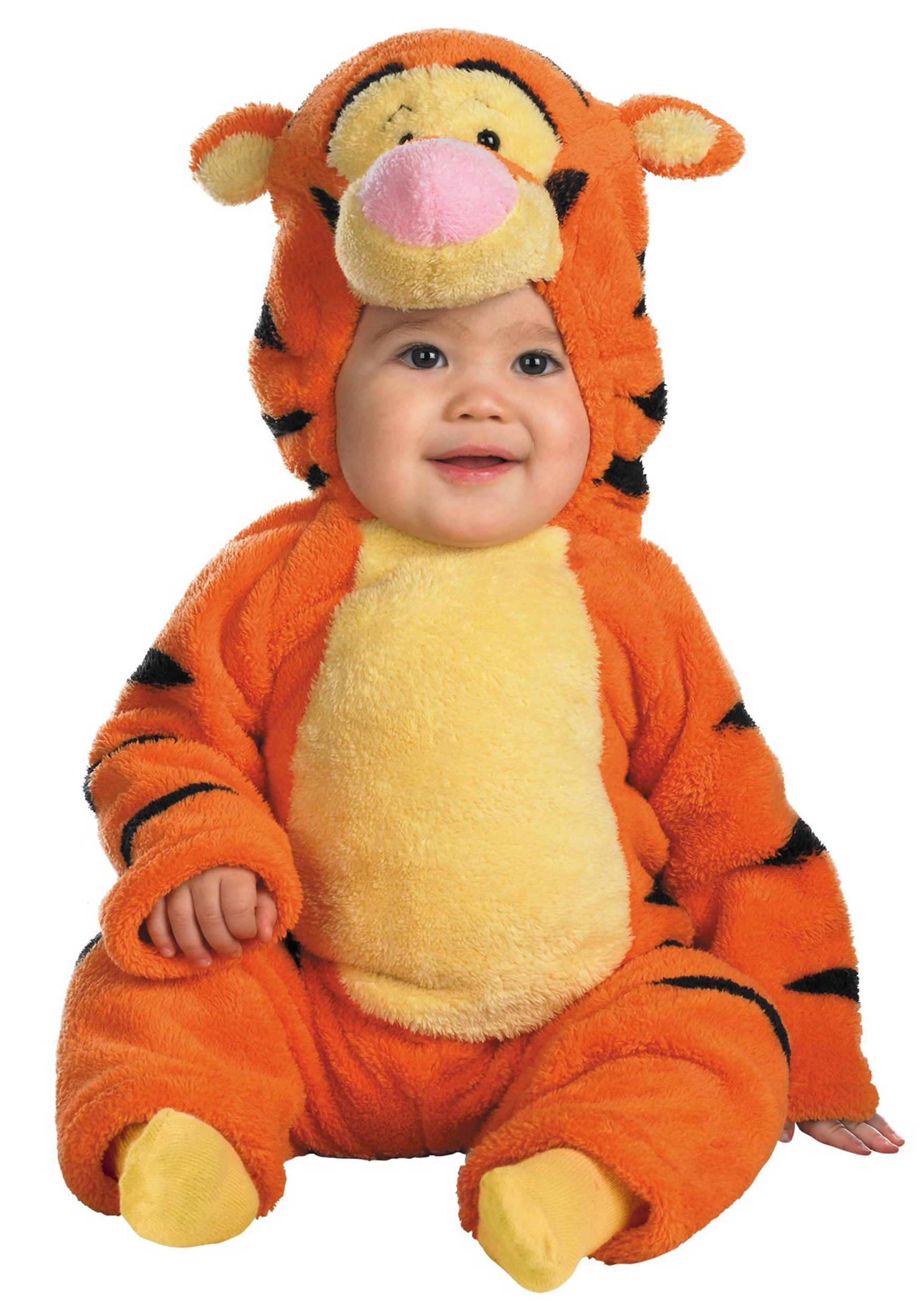 toddler deluxe tigger costume. Black Bedroom Furniture Sets. Home Design Ideas