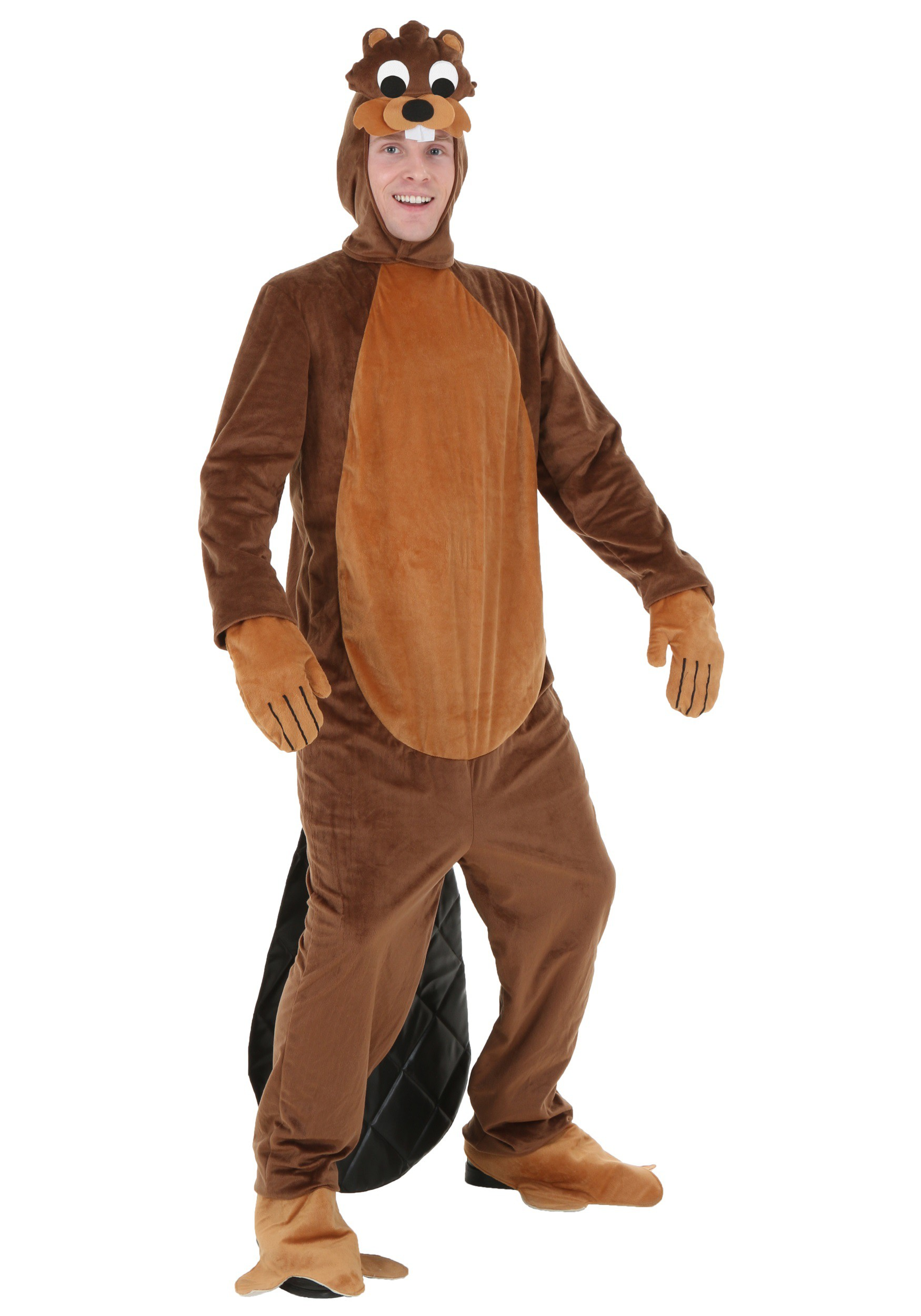 Results 181 240 of 644 for indoor halloween decorations - Adult Busy Beaver Costume