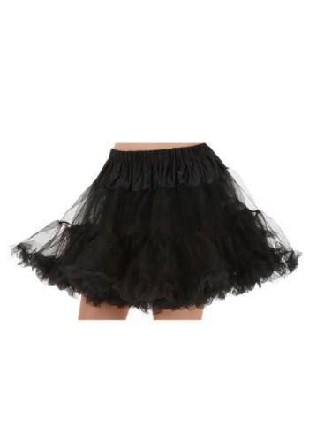 Plus Size Black Petticoat