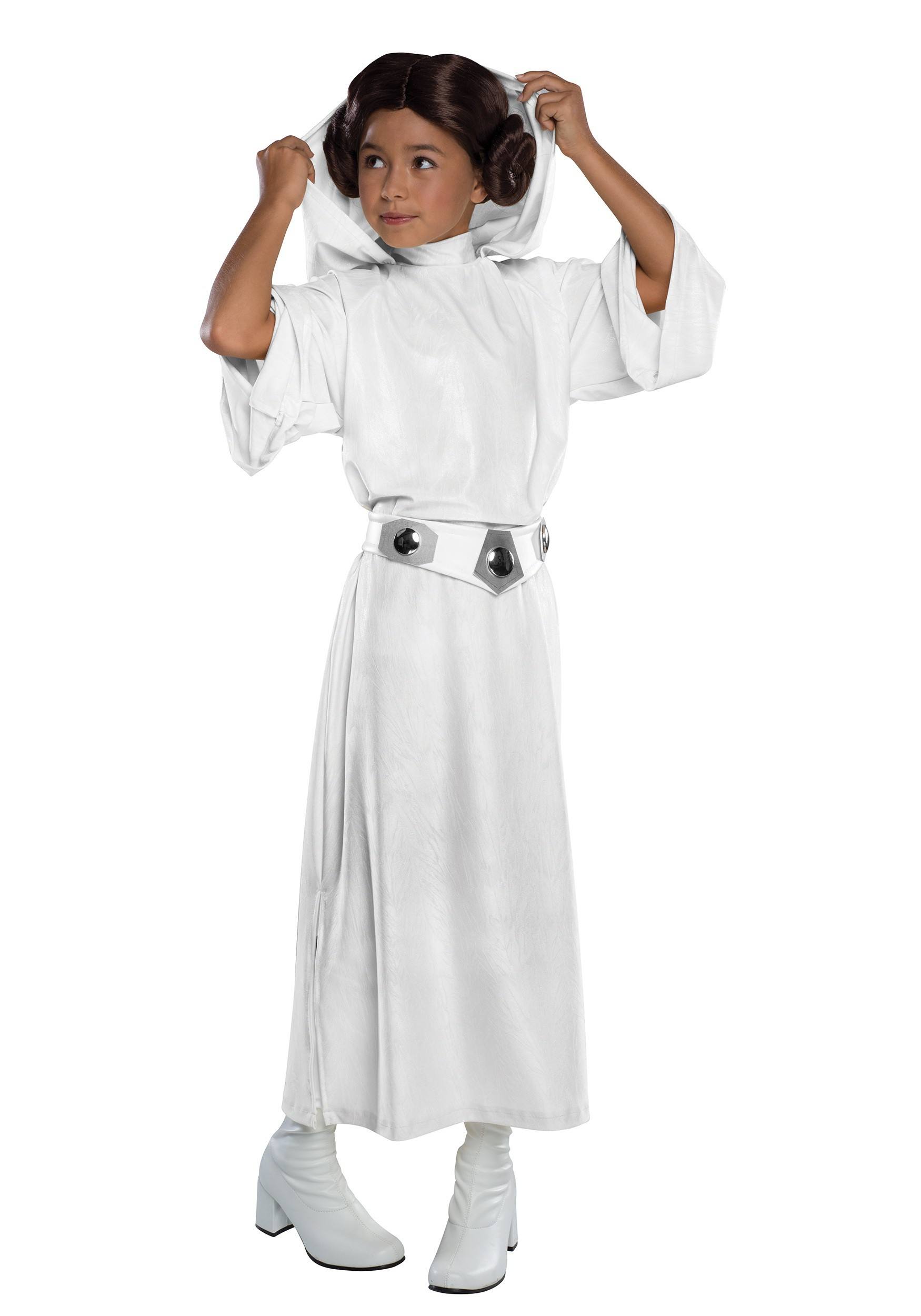 Deluxe Child Princess Leia Costume  sc 1 st  Halloween Costumes & Star Wars Costumes - Adult u0026 Kids Star Wars Costumes