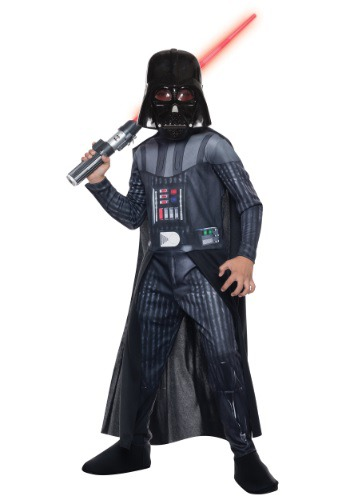 Click Here to buy Kids Darth Vader Costume from HalloweenCostumes, USA Funds & Shipping