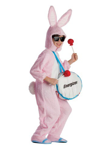 Click Here to buy Kids Energizer Bunny Mascot Costume from HalloweenCostumes, USA Funds & Shipping
