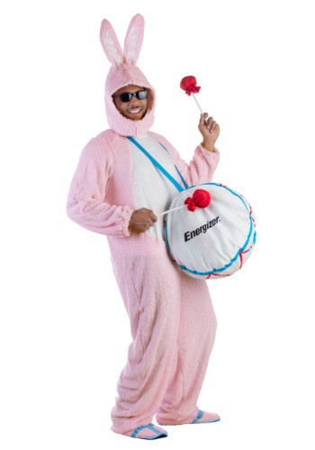 Click Here to buy Adult Energizer Bunny Mascot Costume from HalloweenCostumes, CDN Funds