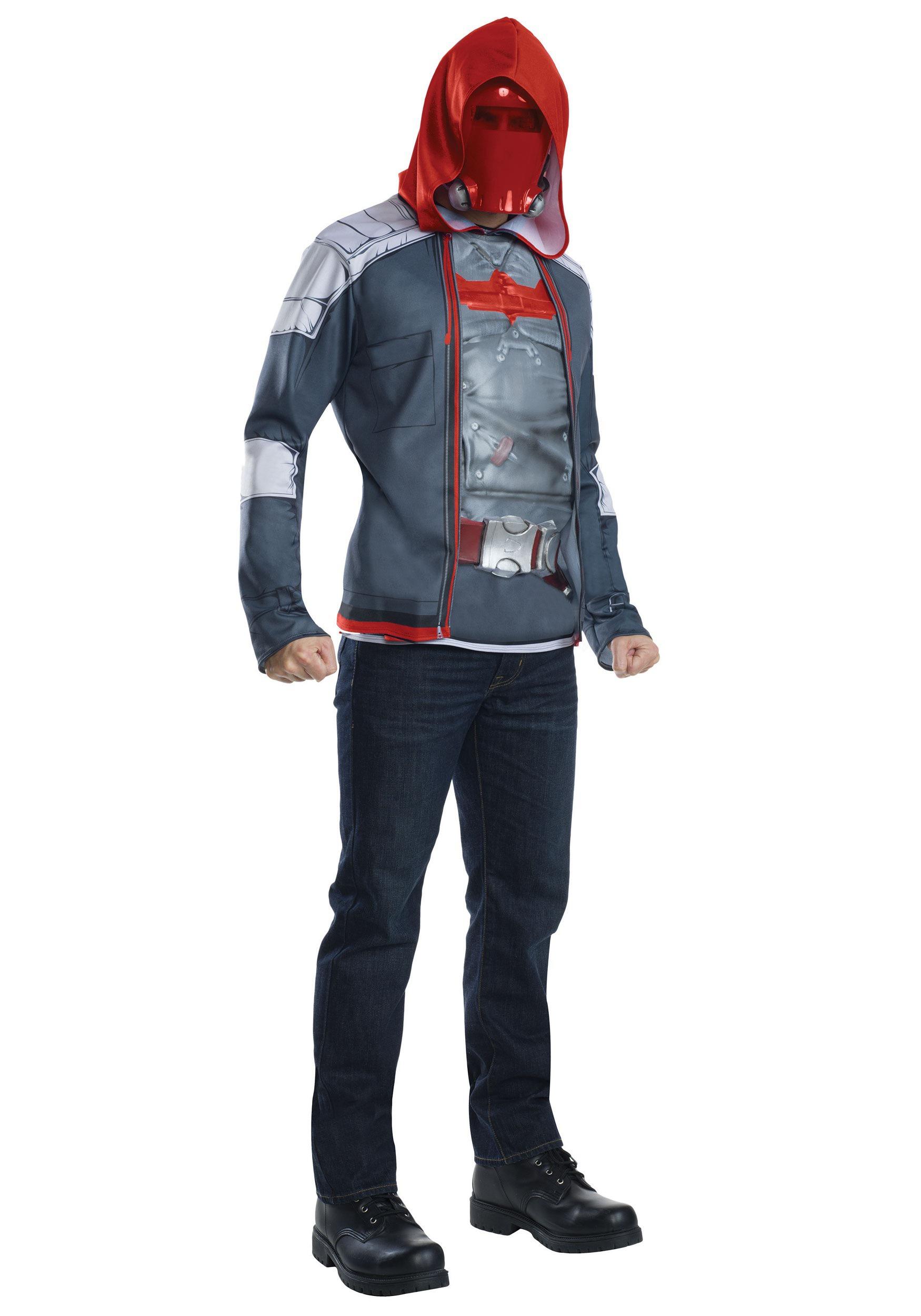 Red hood helmet costume
