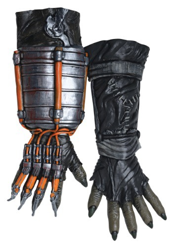 Click Here to buy Adult Scarecrow Arkham Knight Deluxe Gloves from HalloweenCostumes, USA Funds & Shipping