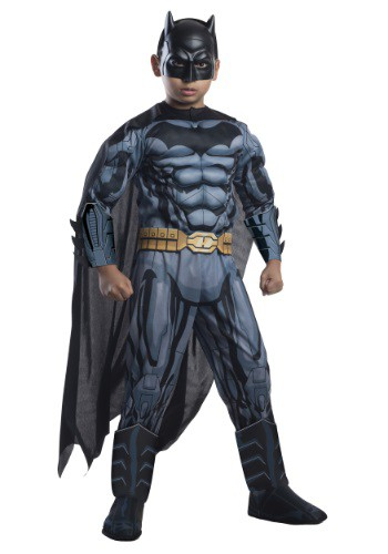 Click Here to buy DC Comics Deluxe Kids Batman Costume from HalloweenCostumes, CDN Funds