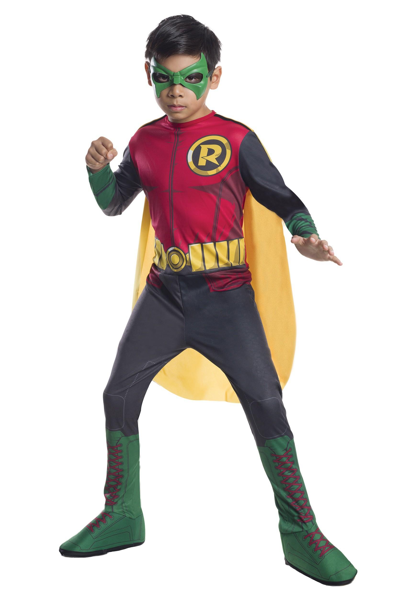 DC Comics Child Robin Costume  sc 1 st  Halloween Costumes & Robin Costumes - Adult Toddler Girl Robin Halloween Costumes