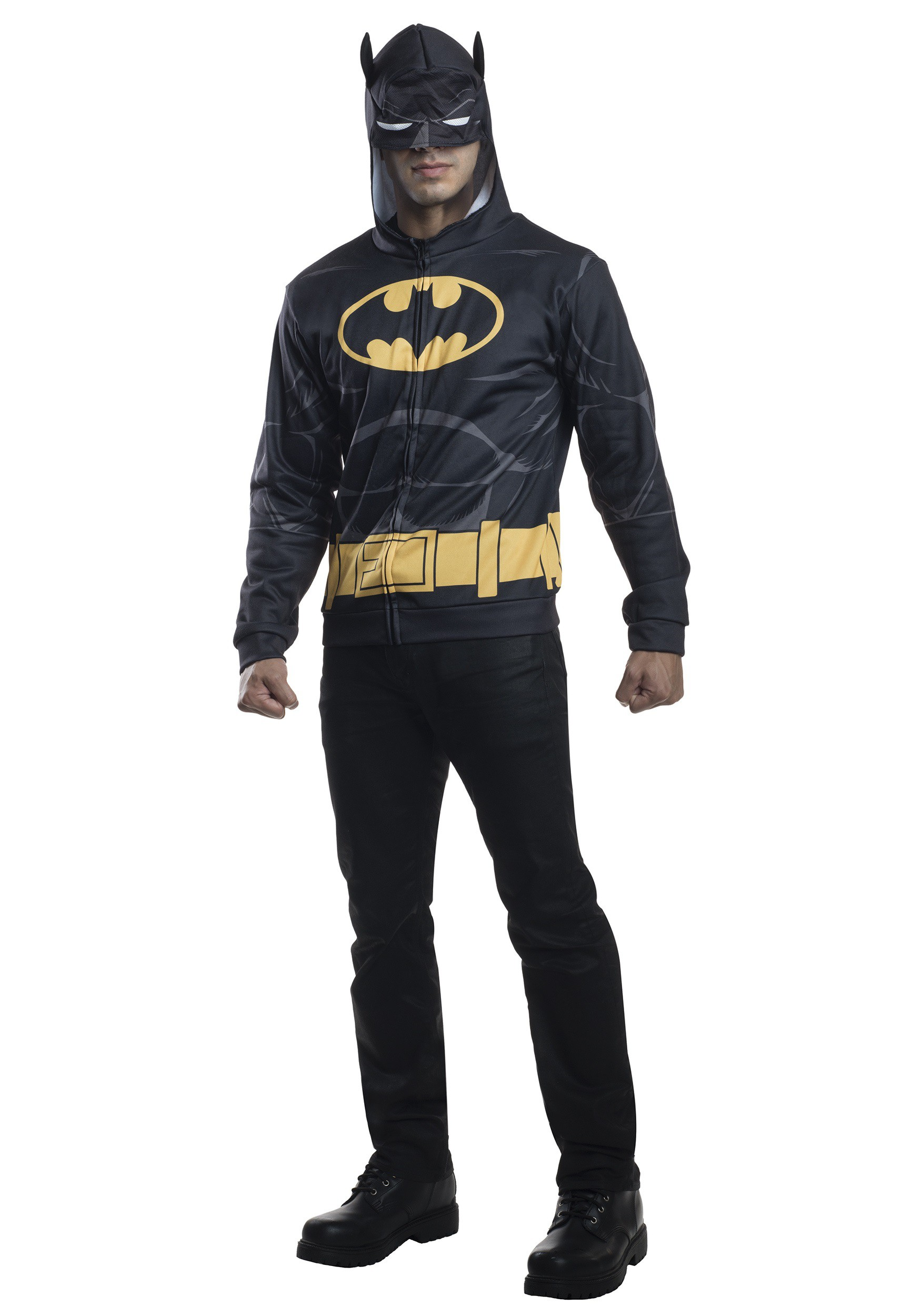 sc 1 st  Halloween Costumes & Adult Batman Costume Hoodie