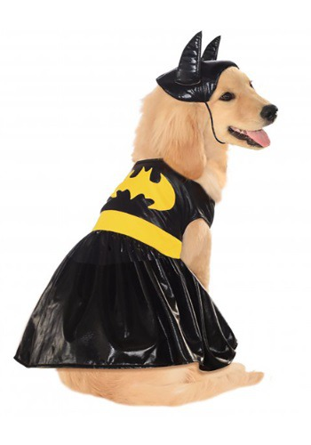 Click Here to buy Batgirl Pet Costume from HalloweenCostumes, USA Funds & Shipping