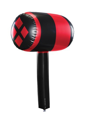 Harley Quinn Inflatable Mallet By: Rubies Costume Co. Inc for the 2015 Costume season.
