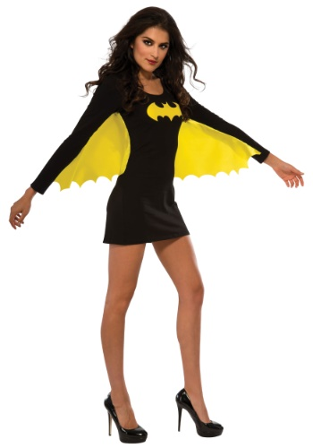 Click Here to buy Womens Batgirl Wing Dress from HalloweenCostumes, USA Funds & Shipping