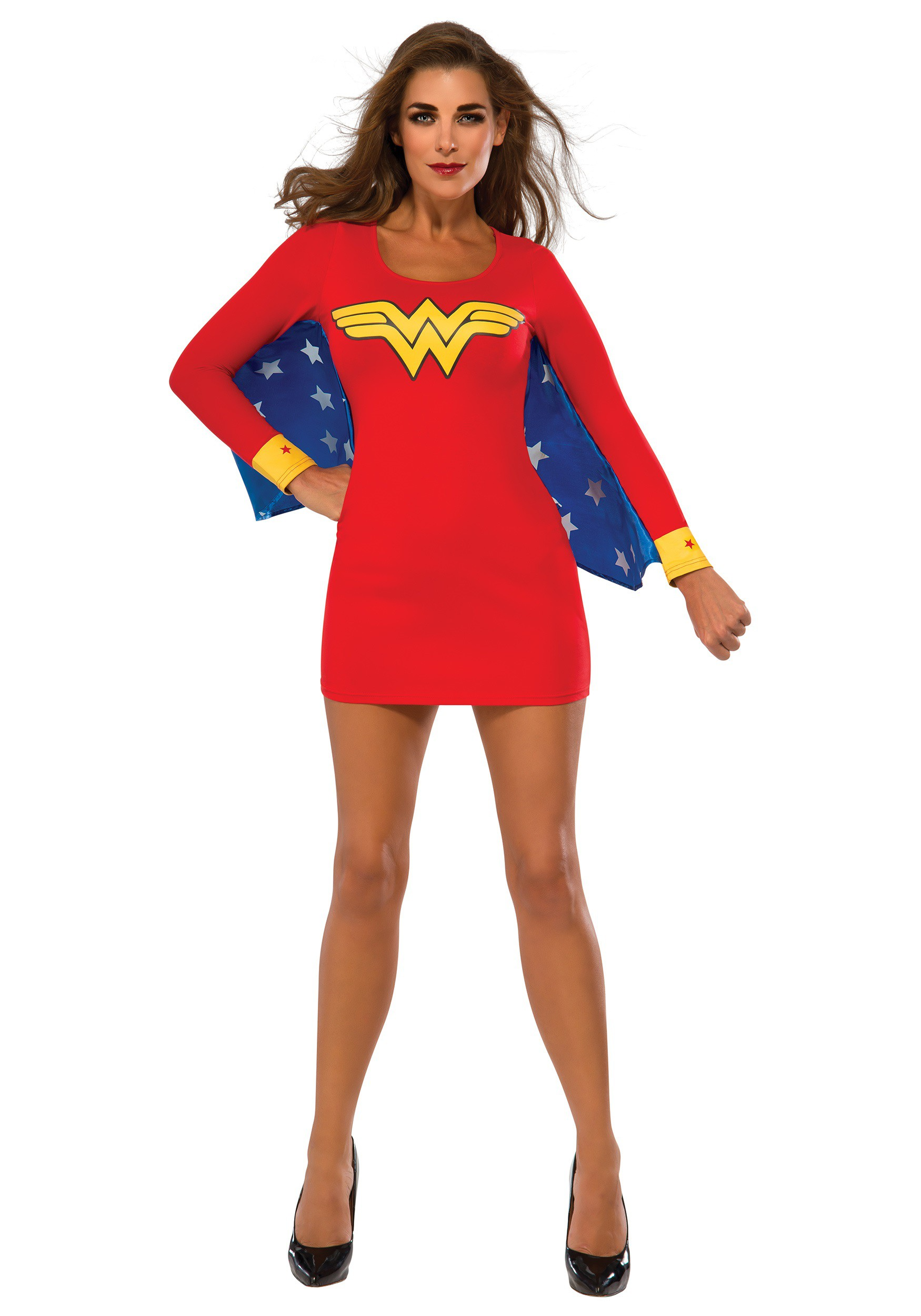 Womenu0026#39;s Wonder Woman Wings Dress