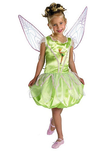 Beautiful Child Disney Tinkerbell Costume