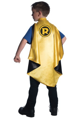 Click Here to buy Kids Deluxe Robin Cape from HalloweenCostumes, USA Funds & Shipping