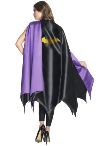 Click Here to buy Adult Deluxe Batgirl Cape from HalloweenCostumes, USA Funds & Shipping