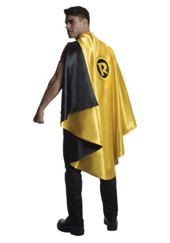 Click Here to buy Adult Deluxe Robin Cape from HalloweenCostumes, CDN Funds