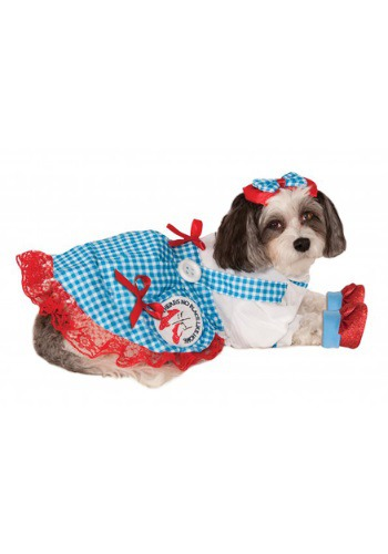 Click Here to buy Dorothy Pet Costume from HalloweenCostumes, USA Funds & Shipping