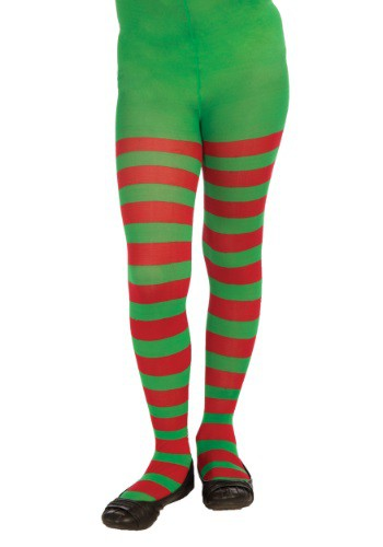 Child Red & Green Striped Tights By: Forum Novelties, Inc for the 2015 Costume season.