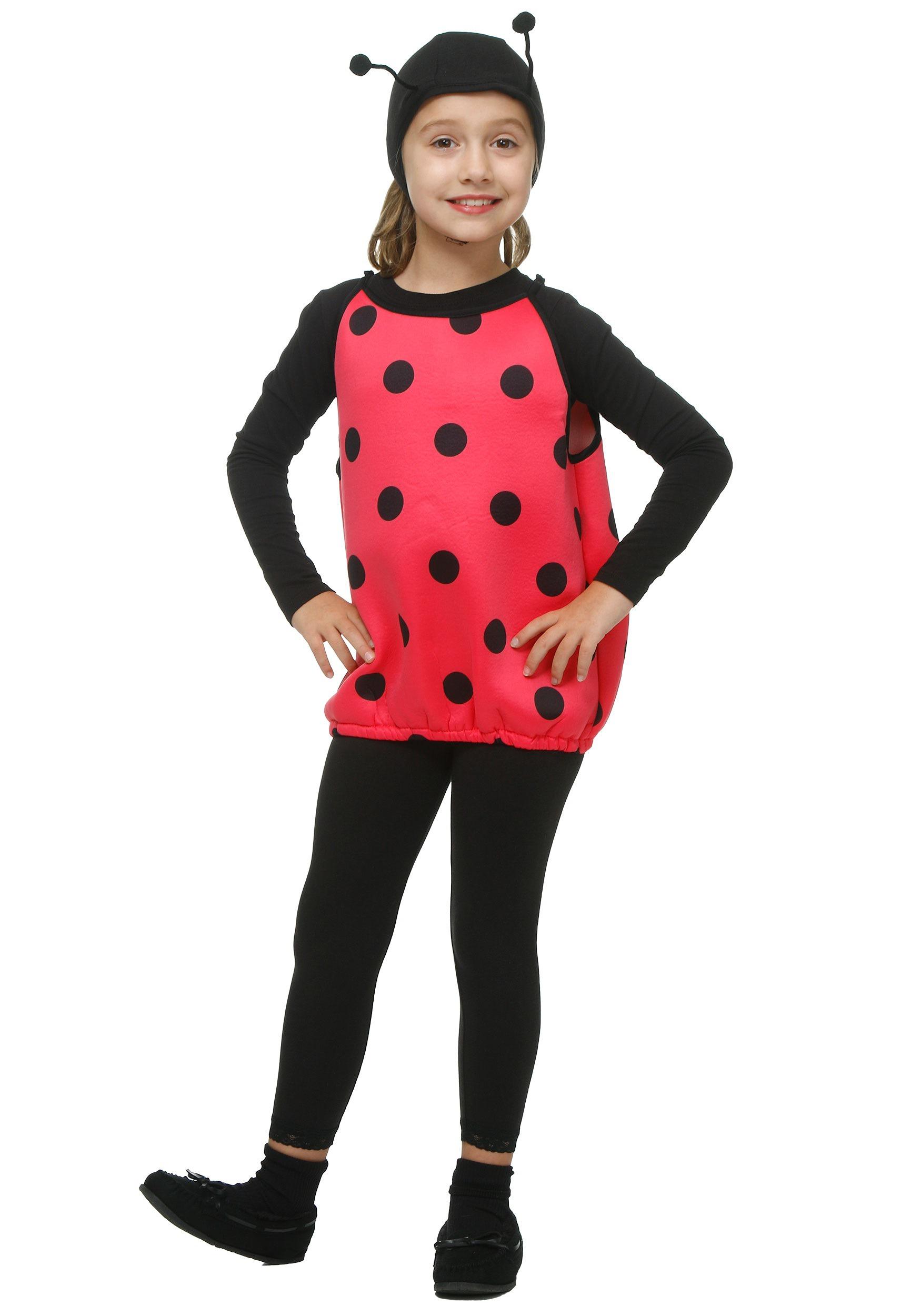 Girls Ladybug Costume FO54133