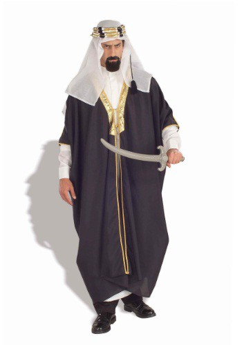 Mens Arabian Chieftain Costume By: Forum Novelties, Inc for the 2015 Costume season.