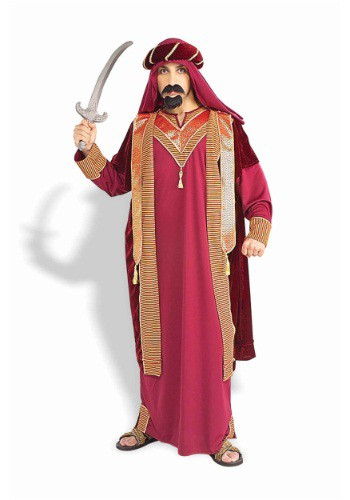 Mens Deluxe Arabian Sultan Costume By: Forum Novelties, Inc for the 2015 Costume season.