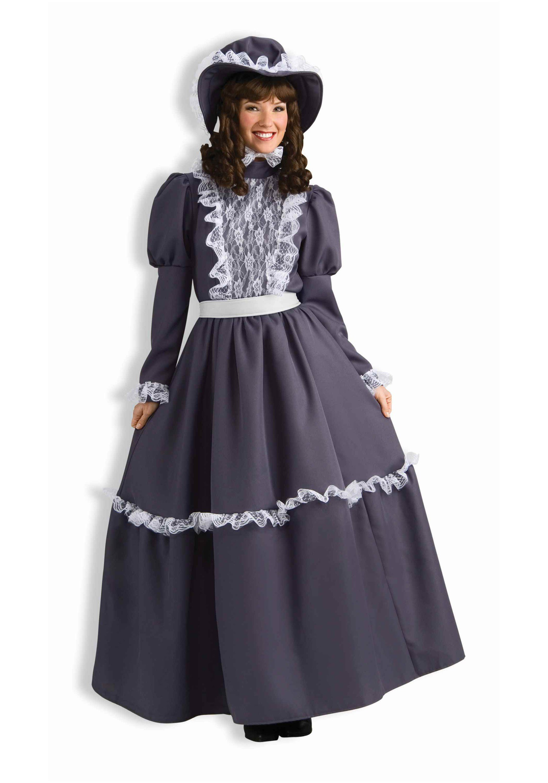 prairie women Life on the prairie will feel better in our exclusive amish prairie woman costume, complete with a bonnet to help shade your face from the relentless sun.