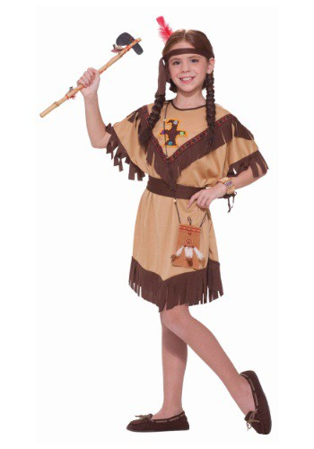 Girls Totem Cutie Costume By: Forum Novelties, Inc for the 2015 Costume season.