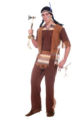 Men's Brave Warrior Costume By: Forum Novelties, Inc for the 2015 Costume season.