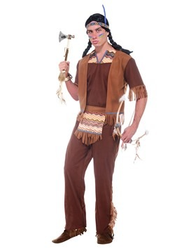 Mens Brave Warrior Costume