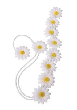Hippie Daisy Flower Headband