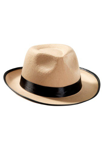 Beige Fedora By: Forum Novelties, Inc for the 2015 Costume season.