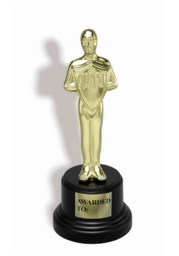 Award Trophy By: Forum Novelties, Inc for the 2015 Costume season.