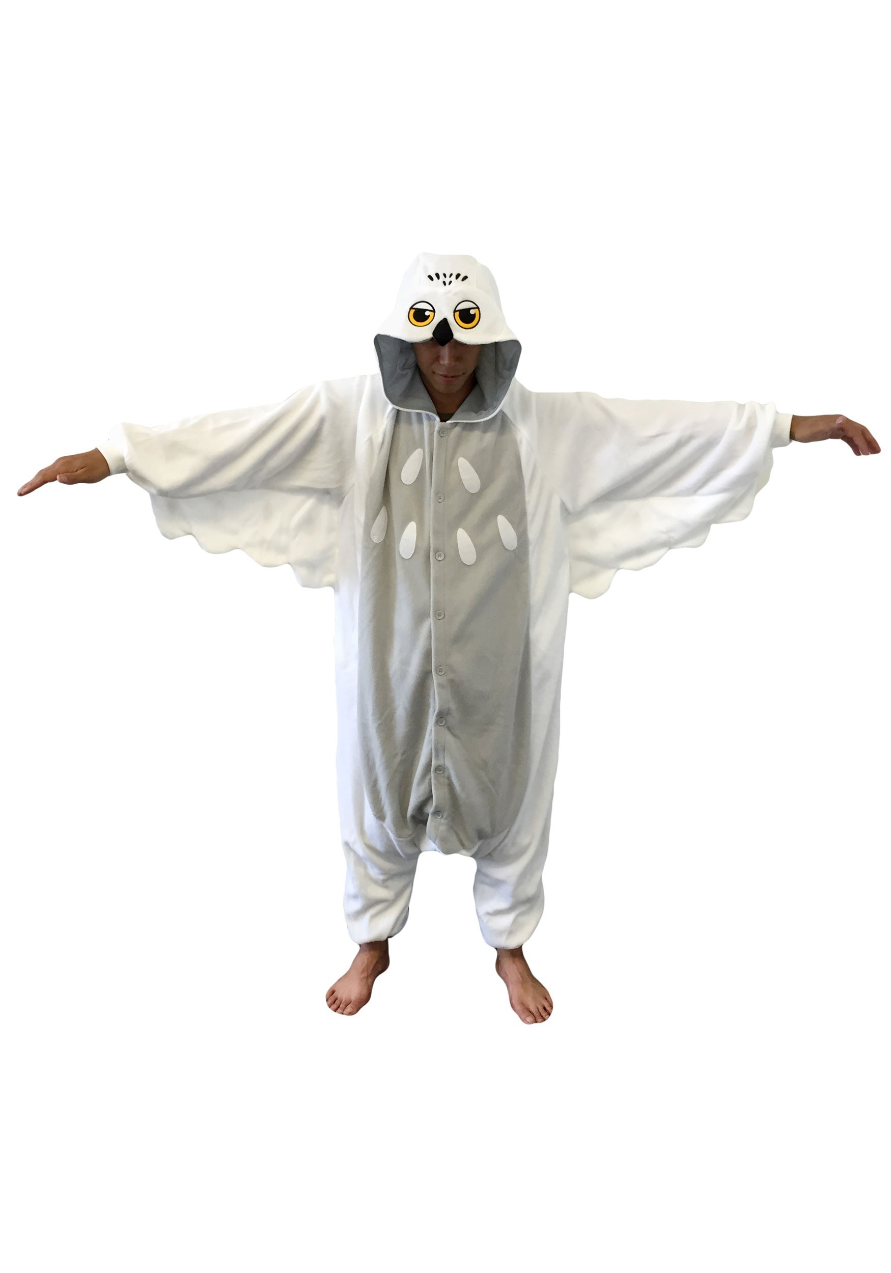 Results 181 240 of 644 for indoor halloween decorations - Snowy Owl Pajama Costume