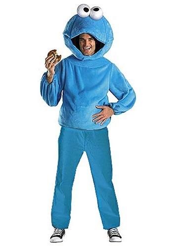 Adult Cookie Monster Costume - Sesame Street Adult Costumes