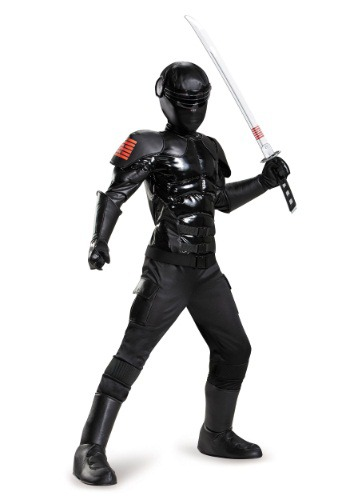 Boys Snake Eyes Prestige Costume By: Disguise for the 2015 Costume season.