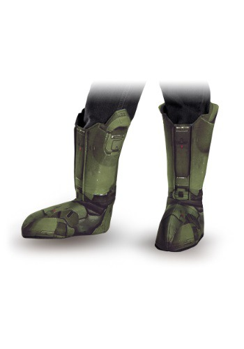 Click Here to buy Master Chief Adult Boot Covers from HalloweenCostumes, USA Funds & Shipping
