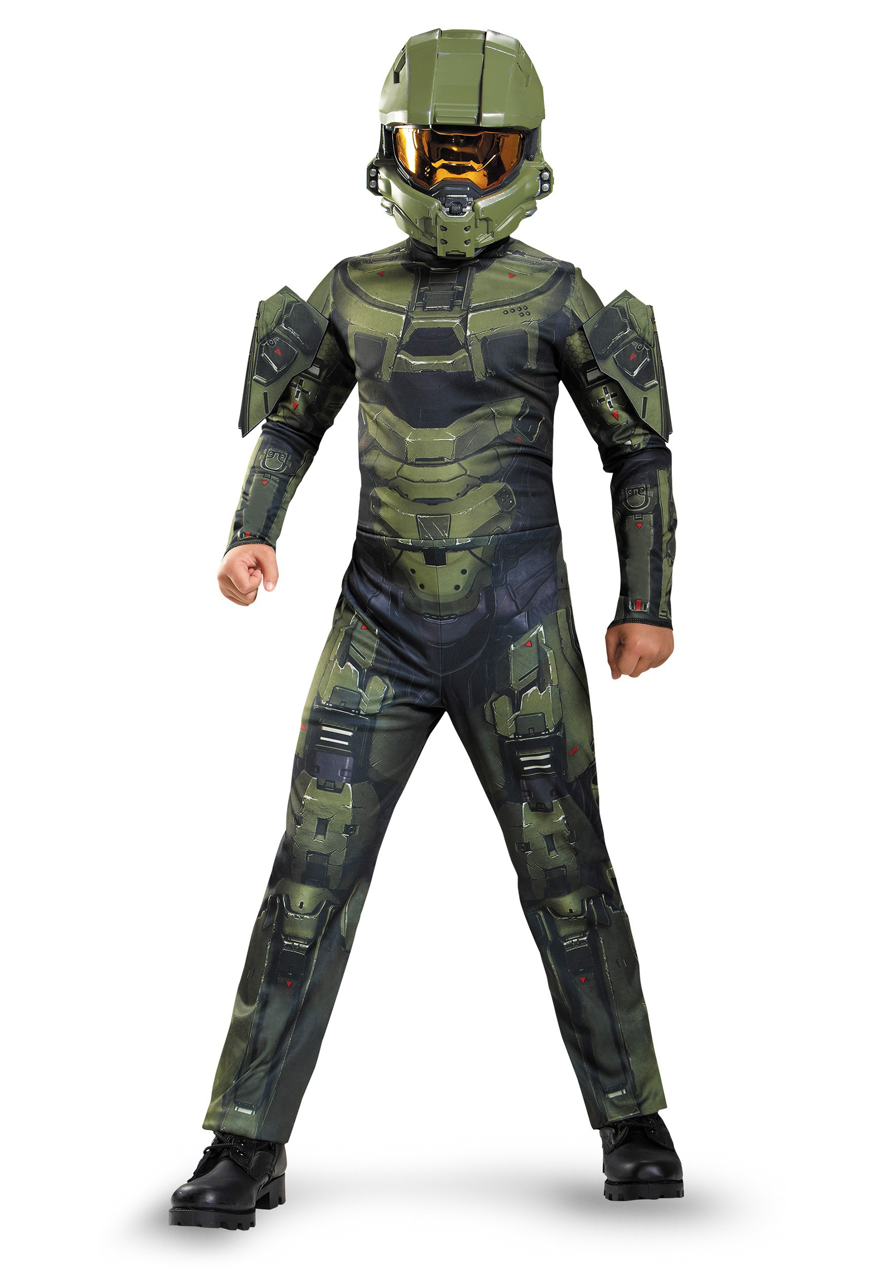 boys master chief classic costume - Boys Army Halloween Costumes