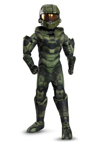 Click Here to buy Boys Master Chief Prestige Costume from HalloweenCostumes, CDN Funds