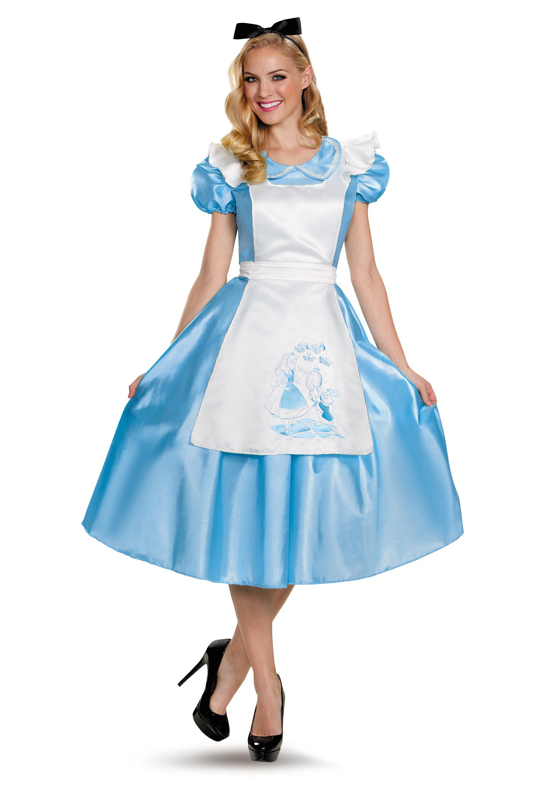 Adult Alice in Wonderland Costume -