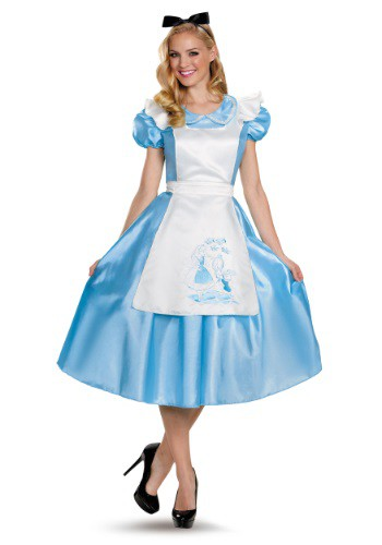 Click Here to buy Classic Alice Deluxe Adult Costume from HalloweenCostumes, CDN Funds