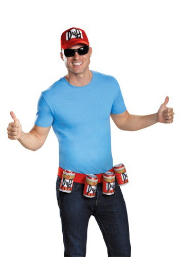 Click Here to buy Adult Duffman Kit from HalloweenCostumes, USA Funds & Shipping