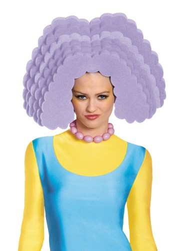 Selma Bouvier Adult Foam Wig By: Disguise for the 2015 Costume season.