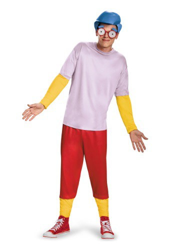 Click Here to buy Teen Deluxe Milhouse Costume from HalloweenCostumes, USA Funds & Shipping