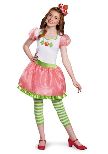 Click Here to buy Strawberry Shortcake Tween Costume from HalloweenCostumes, CDN Funds